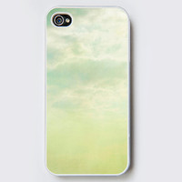 iPhone Case - dream- cell phone cover- iPhone 4 and iPhone 4S cover - accessory - geekery, nature photo, sky clouds photo, photo case