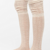 Summer Sweater Over-The-Knee Sock