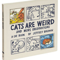 Cats Are Weird | Mod Retro Vintage Books | ModCloth.com