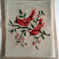 Vintage Needlepoint by hilltopcottage on Etsy
