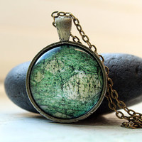 Mineral pendant  Gemstone necklace Stone jewelry OW57
