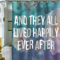DENY Designs Home Accessories | Leah Flores Ever After Shower Curtain