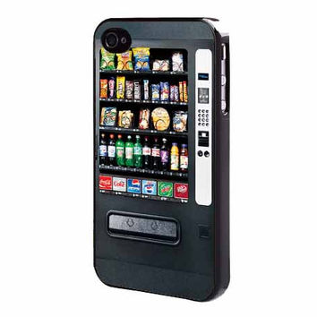 Vending Machine iPhone 4, 4s, 5, 5s, 5c, iPhone 6 or Galaxy S3 S4 S5 Note 2, 3, 4 Cell Phone Back Case Cover