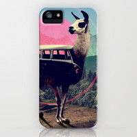 Llama iPhone Case by Ali GULEC | Society6