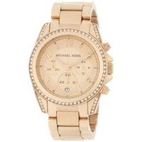 Michael Kors Women&#x27;s MK5263 Rose Gold Blair Watch - designer shoes, handbags, jewelry, watches, and fashion accessories | endless.com