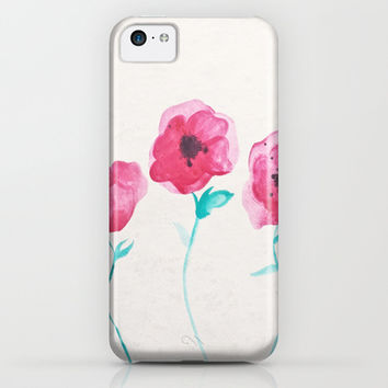 Asian Poppies iPhone & iPod Case by DuckyB (Brandi)