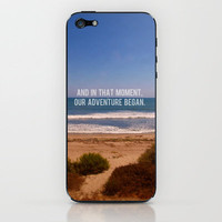 And In That Moment, Our Adventure Began. iPhone & iPod Skin by Josrick | Society6