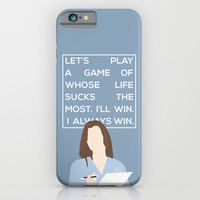 Greys Anatomy: Meredith Grey iPhone & iPod Case by Holly Ent