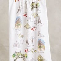 Mapped-Out Dishtowel by Anthropologie
