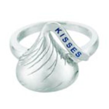Sterling Silver Hershey's Kiss Ring: Personalized Boutique, Inc.