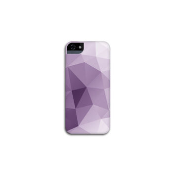 iPhone 6 Case Purple Geometric iPhone 5 Case, Plum Modern iPhone 5S Case, Amethyst Abstract iPhone 4 Case iPhone 6 Case
