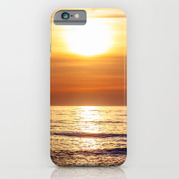 Sunset Sea iPhone & iPod Case by Pati Designs