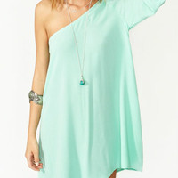 Seafoam Green Godess Dress