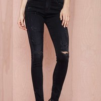 Citizens of Humanity Rocket High Rise Skinny Jean - Black