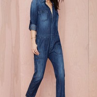 Citizens of Humanity Tallulah Denim Jumpsuit