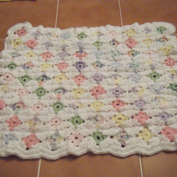 Small Granny square afghan