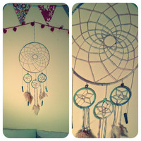 Dream Big, homemade Pastel dreamcatcher.
