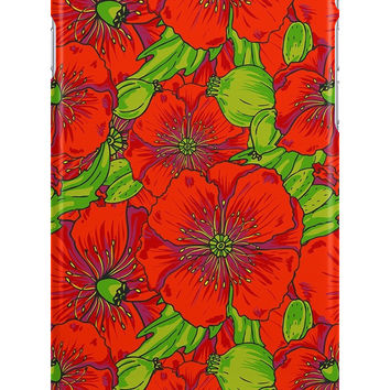 Poppy Floral Pattern iPhone 6 Case