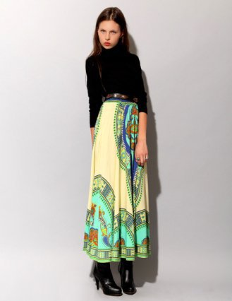 Bohemian skirt [Fly3622] - $84 : Pixie Market, Fashion-Super-Market