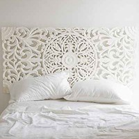 Sienna Headboard- White Full/queen