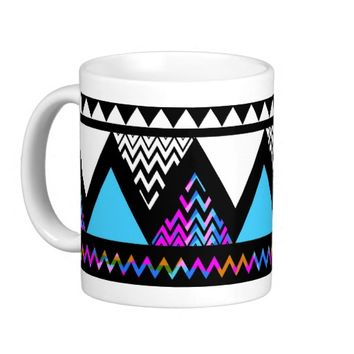 Princess #3 - Purple Aztec Mug #5