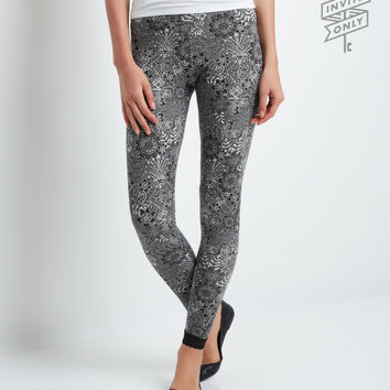 Aeropostale  Invite Only Floral Lace Leggings