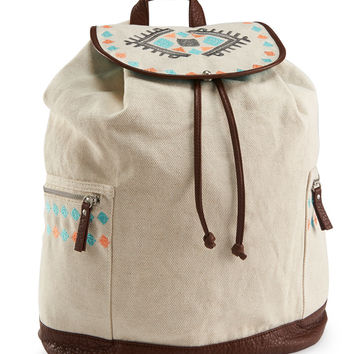 Aeropostale  Southwest Embroidered Backpack