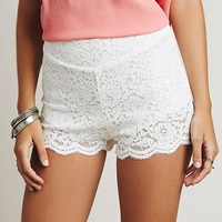 Free People Womens Aubrey Lace Short