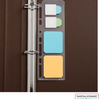 Martha Stewart Home Office&amp;trade; with Avery&amp;trade; Planner Insert, Classic NoteTabs&amp;reg; &amp; UltraHold Sticky Notes