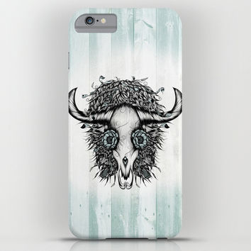 The Spirit Of the Buffalo iPhone & iPod Case by LouJah