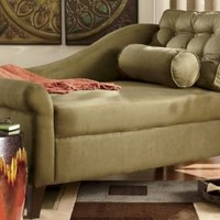 Cleopatra Afternoon Chaise from Midnight Velvet?-