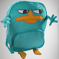 Phineas & Ferb 'Perry' Plush Backpack