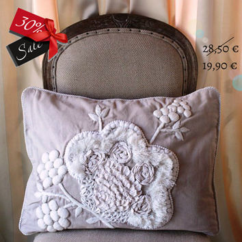 Cushion Spring Embroidery