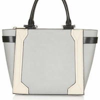 Structured Tote - Grey