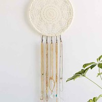 Plum & Bow Dreamcatcher Jewelry Organizer- Ivory One