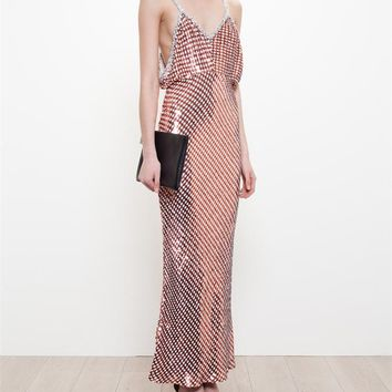 Sequinned Evening Dress - ASHISH
