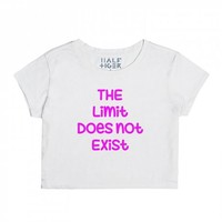 The Limit-Unisex Snow T-Shirt