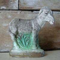 Vintage Chalkware Donkey or Burro  Replacement or Your Private Collection