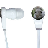 Bunny Rabbit Gray - Easter In-Ear Headphones
