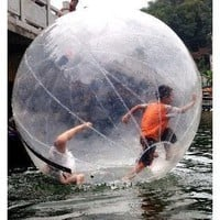 Amazon.com: Walk on Water Ball Zorb Inflatable Roller Ball in water: Sports &amp; Outdoors