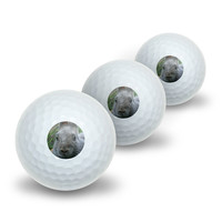 Bunny Rabbit Gray - Easter Novelty Golf Balls 3 Pack