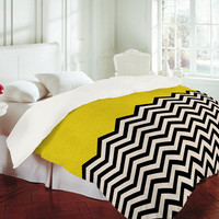 DENY Designs Home Accessories | Bianca Green Follow The Sun Duvet Cover