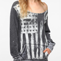 Sparkle & Fade Washed Americana Sweatshirt