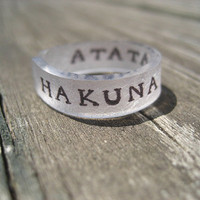 Custom Quote Ring