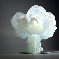 Nuke Lamp by veneridesign on Etsy
