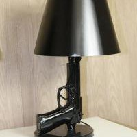 www.roomservicestore.com - Room Service Pistol Table Lamp