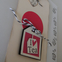 Love Tea Gift Tag Set