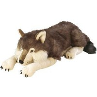 Amazon.com: Cuddlekins Wolf - 30-Inch: Toys & Games