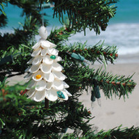 Seashell Christmas Tree Ornaments | OceanStyles.com