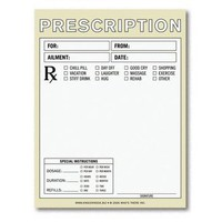 Prescription Nifty Note ? Fake Prescription Pad by Knock Knock